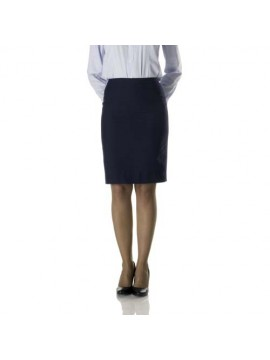navy color uniform skirt
